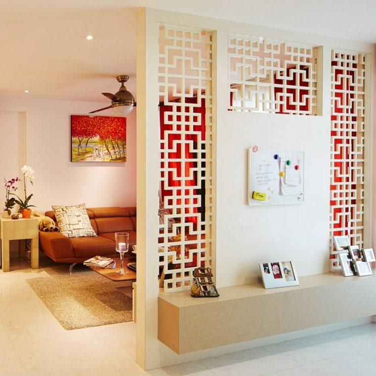 Separador de ambientes ideas para interiores y exteriores for Estilo eclectico diseno de interiores