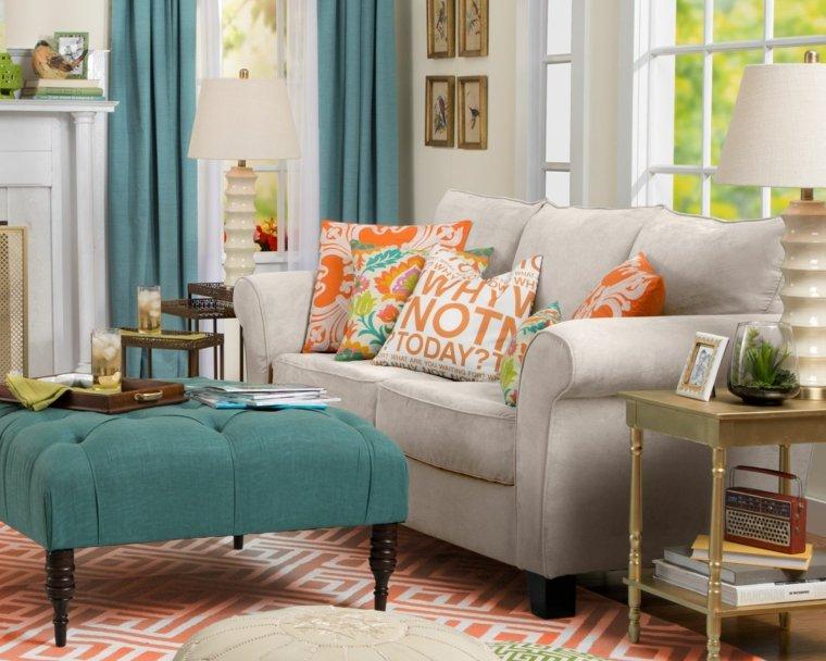 decoración vintage salones - ideas para un look estilo retro - - Muebles De Diseno Vintage
