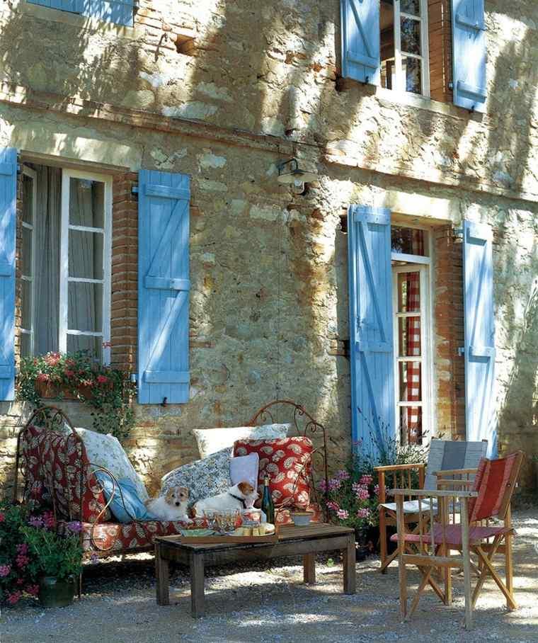 diseno vintage romantico jardin rustico ideas
