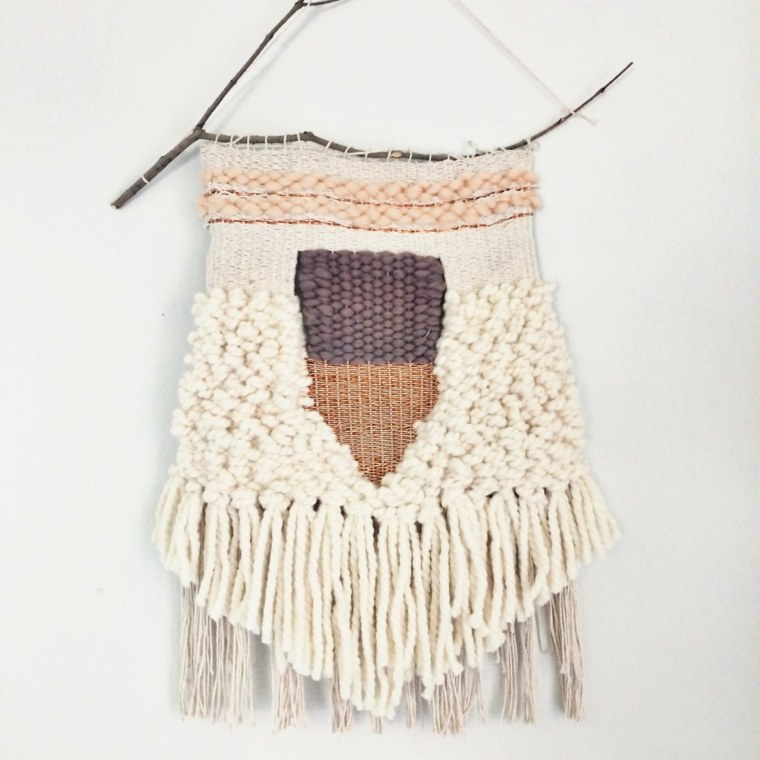diseno tapiz lana DIY