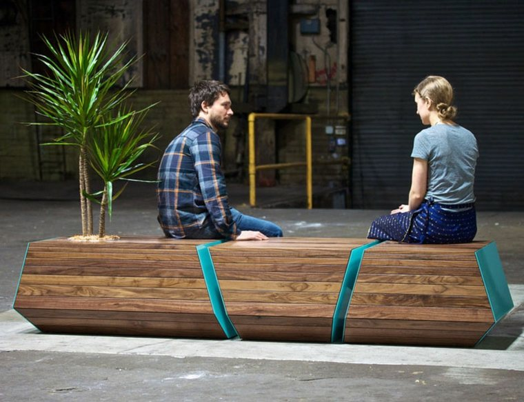 disenos de muebles de sala exterior banco planta ideas