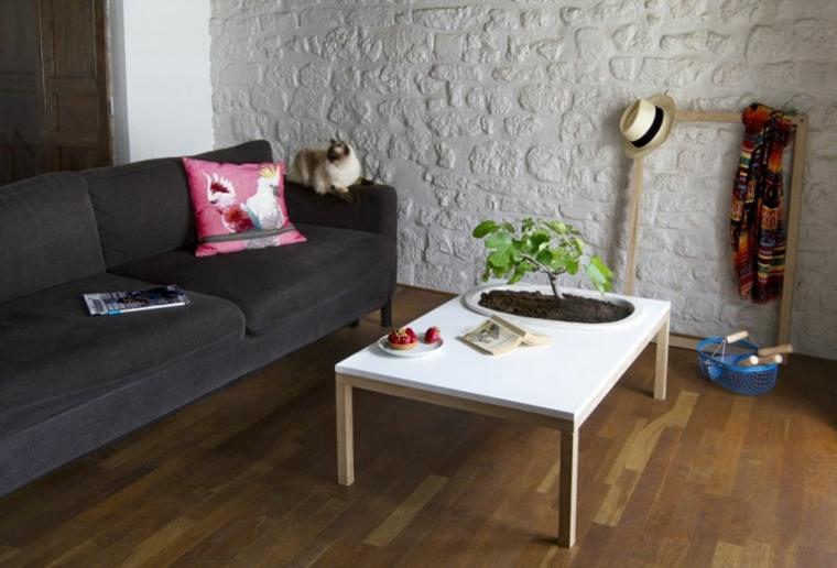 Dise os de muebles de sala o jard n con plantas - Diseno de muebles de sala ...