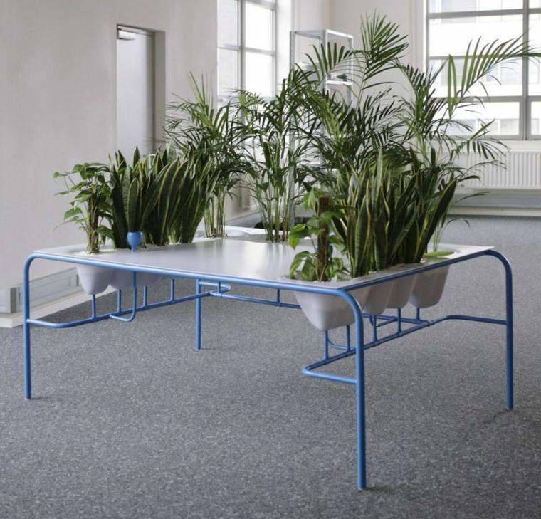 disenos de muebles exterior interior opciones plantas ideas