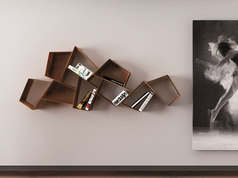 dispositivos almacenamiento estanteria forma original pared opciones ideas