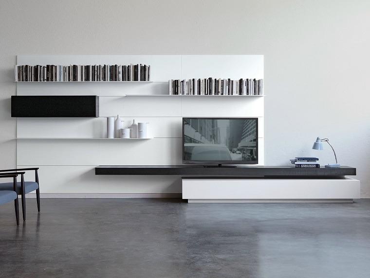 dispositivos almacenamiento estanteria opciones televisor ideas