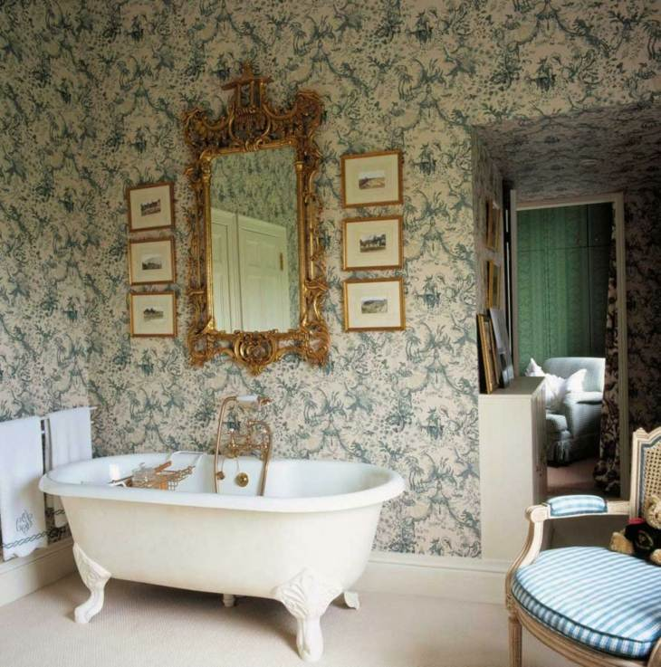 Decoracion vintage baños de impacto con detalles increíbles