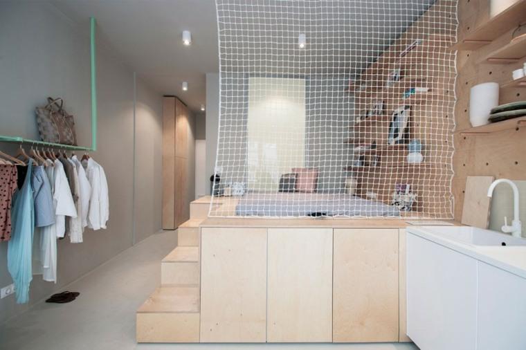 espacio diseño malla separador ambientes malla