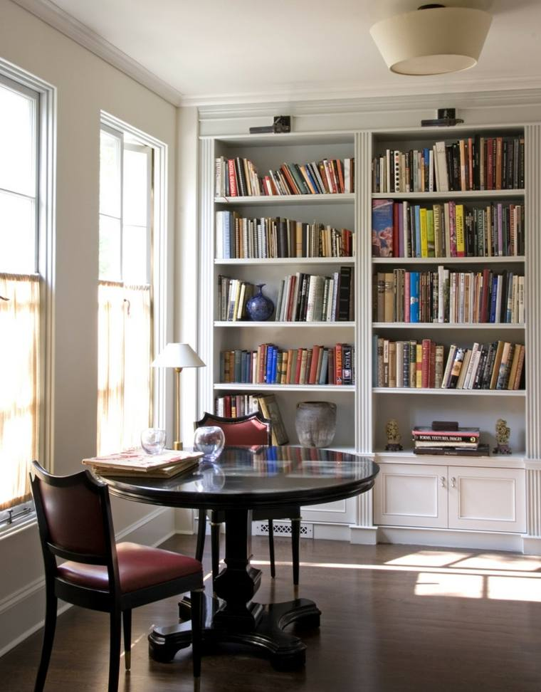 Librerias para sal n 48 fotos que lograr n inspirarte for Decoracion librerias