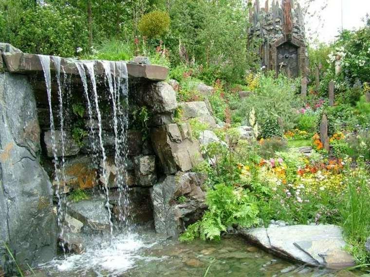 estilos naturales efectos rocas naturales flores