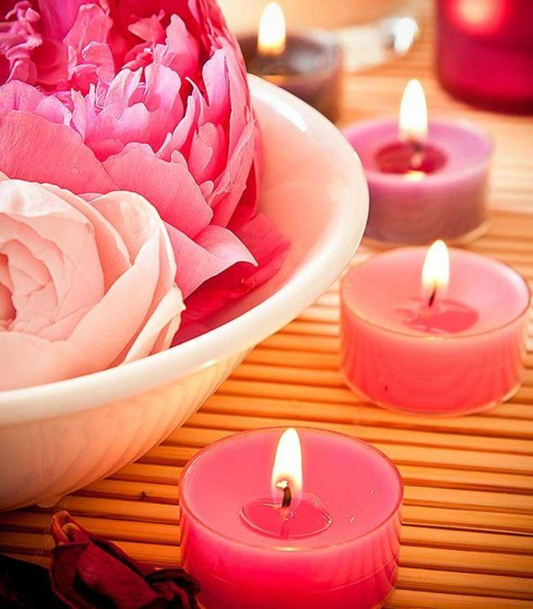 estupenda decoración color rosa