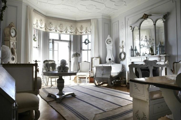 estupendo salon lujoso shabby
