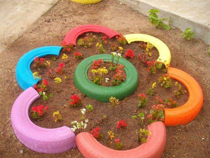estupenda flor decorativa jardin