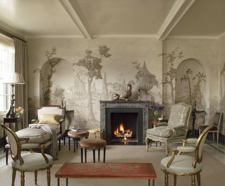 Sala De Estar Estilo Vintage ~  cuando se trata de añadir un toque retro a tu sala de estar