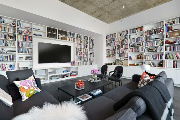 estupendo salon diseño moderno
