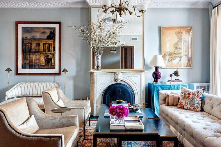 estupendo conjunto muebles vintage salon
