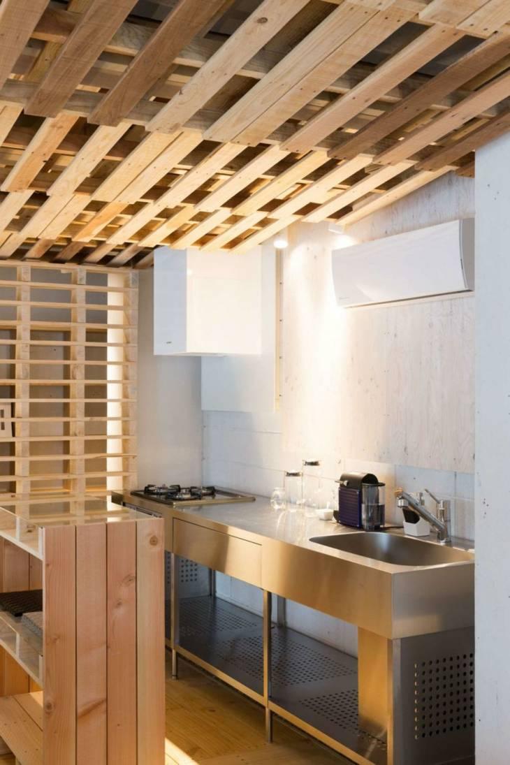 falso techo diseño cocinas variaciones mesas