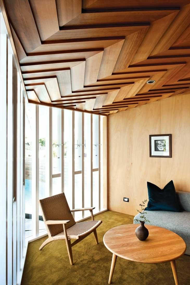 falso techo diseño estilos muebles mesas