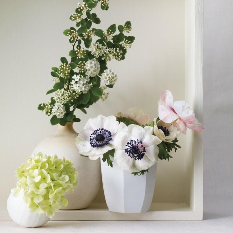 flores primavera decorar casa hortencia jarrones pequenos ideas