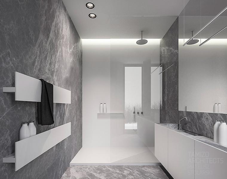 fotos de baños modernos minimalista