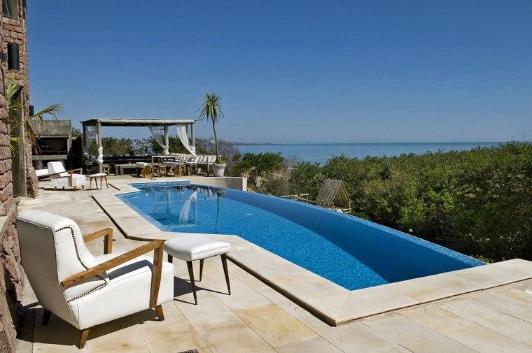 photos pools garden furniture white chair exterior ideas