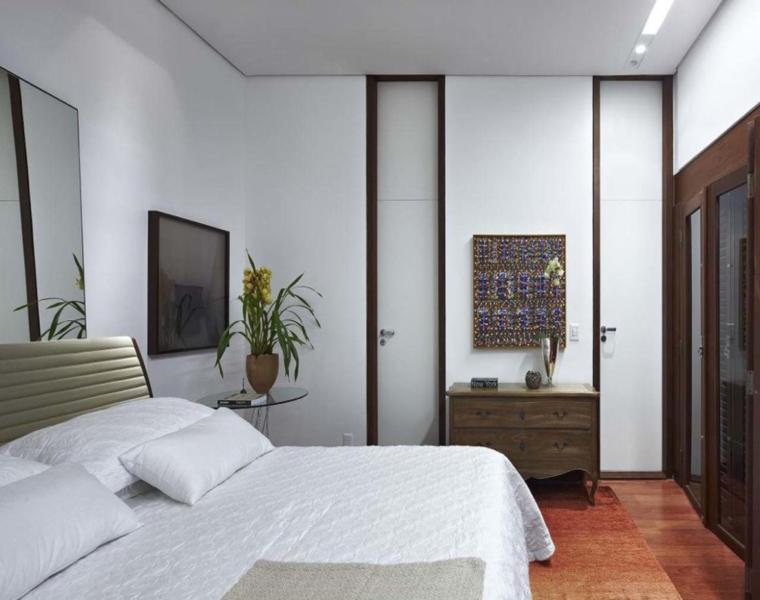habitación diseño moderno cama