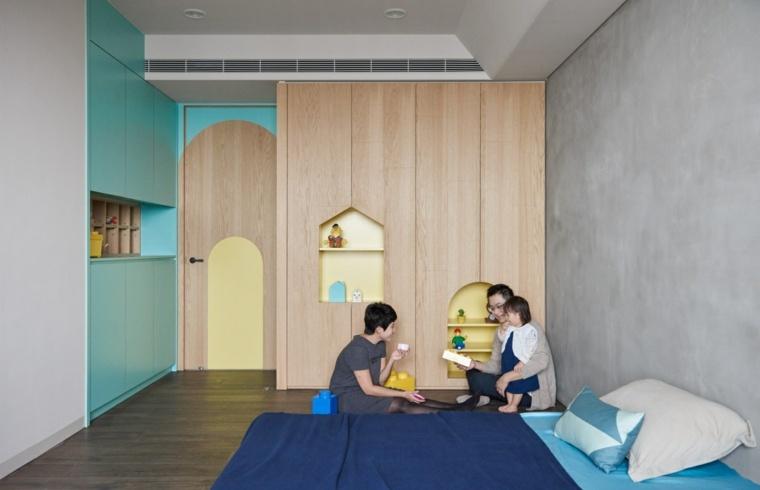 habitacion infantil diseno moderno
