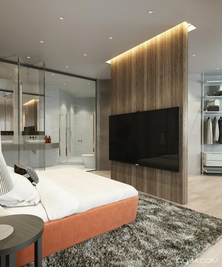 Separador de ambientes ideas para interiores y exteriores - Ambientes de dormitorios ...