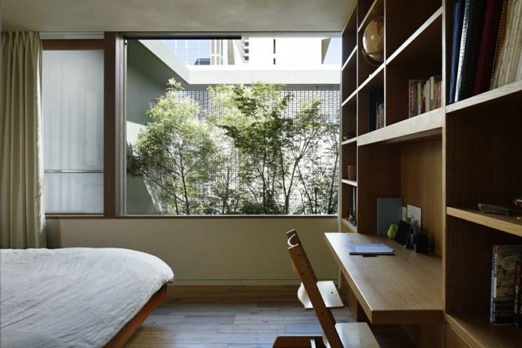 habitaciones copas arboles sillones dormitorio