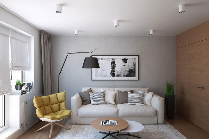 cuadros habitaciones estilos muebles lineas