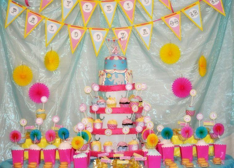 Ideas originales para cumplea os c mo decorar una fiesta - Como decorar una mesa para una fiesta ...