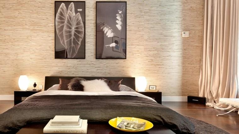 ideas decoracion barata cuadros pared dormitorio ideas
