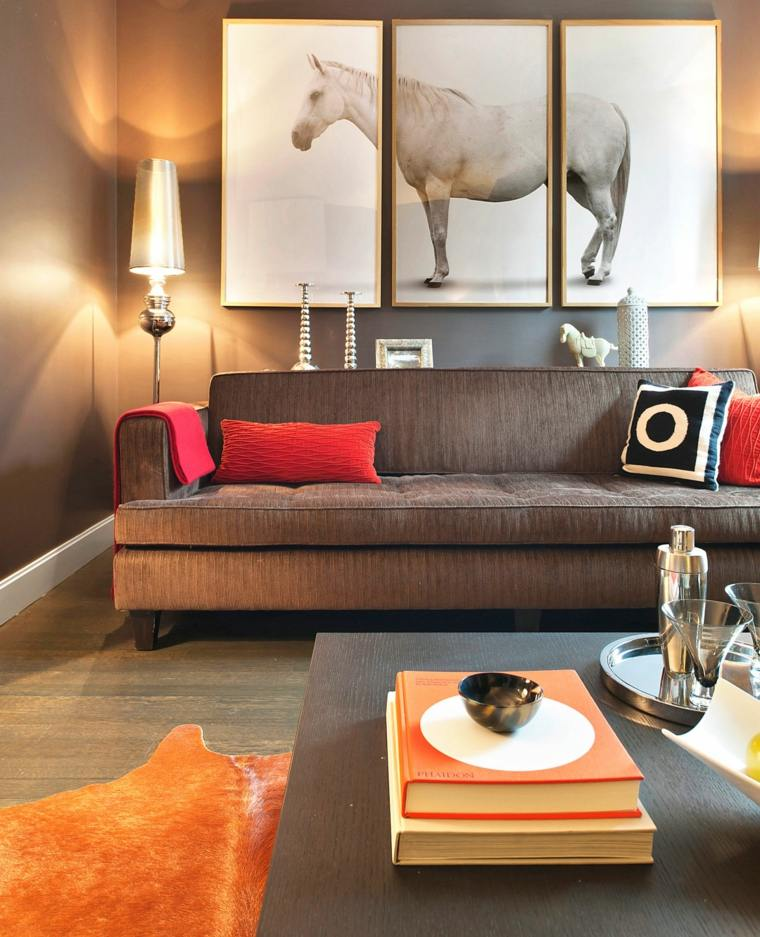 Ideas decoraci n baratas apartir de dise os exclusivos - Ideas decoracion paredes salon ...