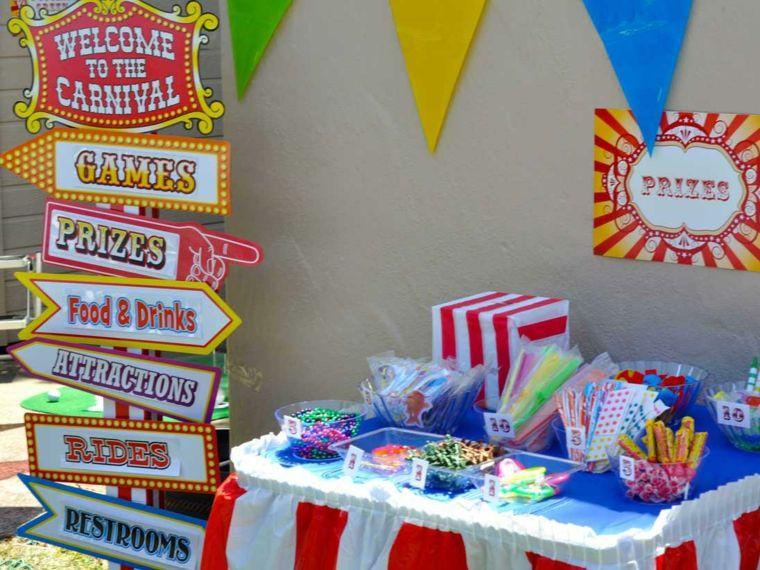 carteles decorativos fiesta cumple
