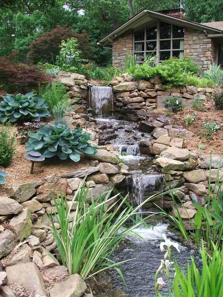Jardines cascadas en 42 incre bles ideas creativas - Jardines y plantas ...