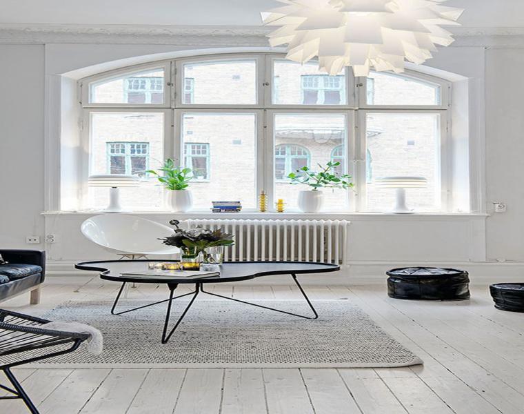interior decoración blanca