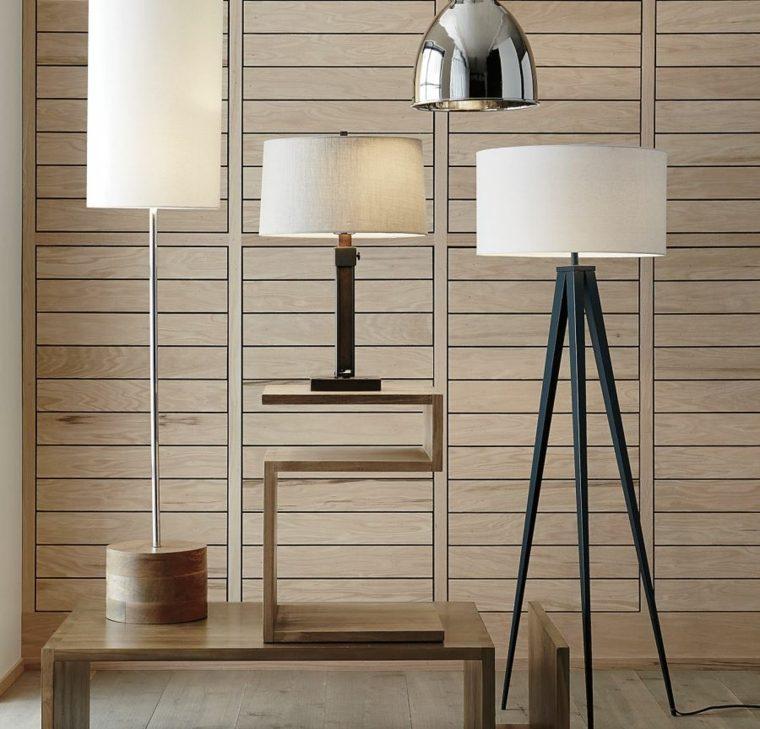 pared interior madera laminada