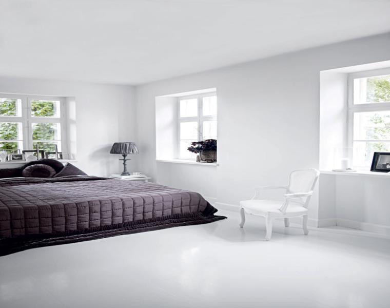 interiores diseño moderno blanco