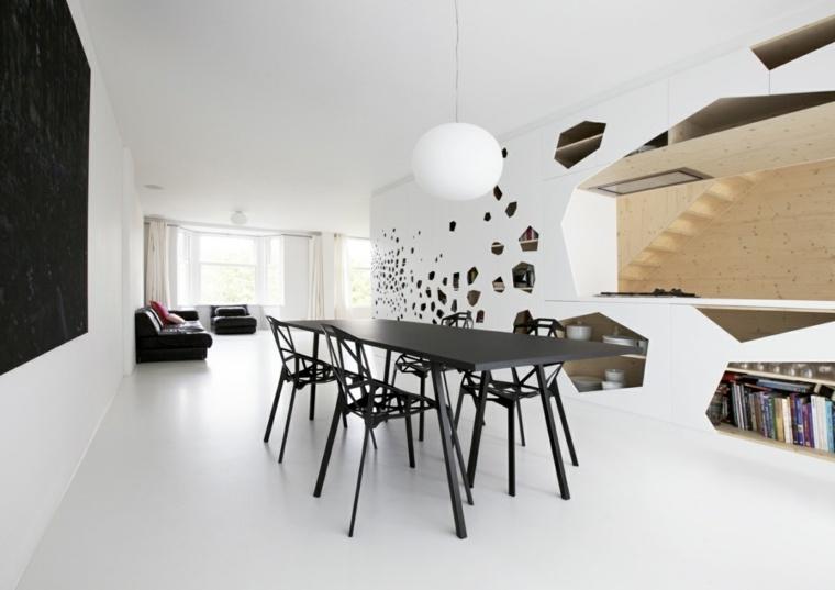interiores modernos diseno color blanco