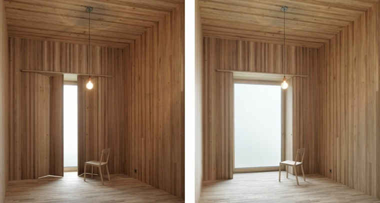 interiores modernos de madera