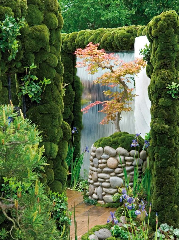 Jardines japoneses 36 ideas y consejos for Caidas de agua para jardin