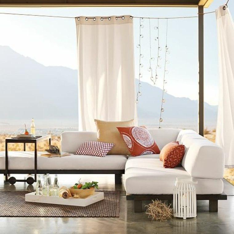 jardin secreto protegido miradas indeseadas cortinas ideas