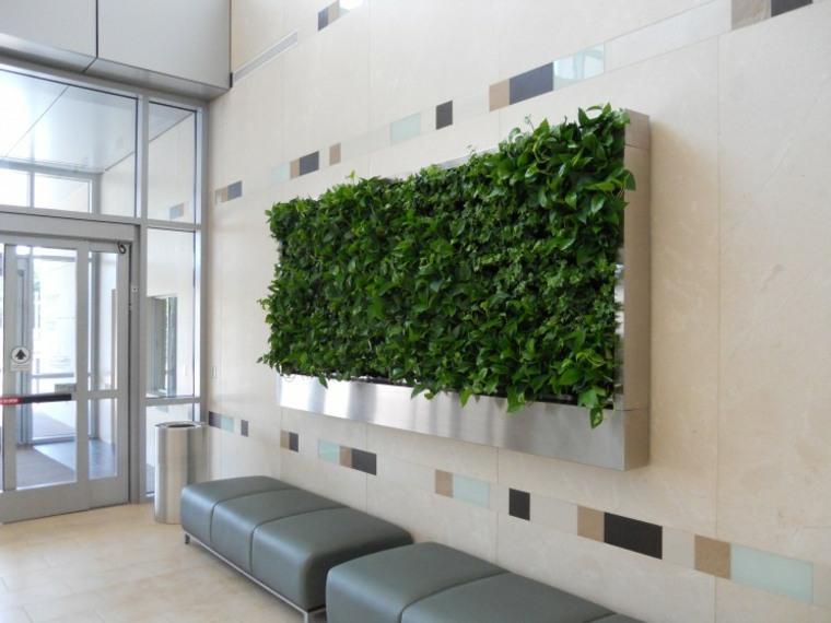 Un jardín vertical aportará a tu hogar ese toque fresco que tanto
