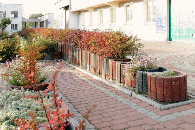 jardineria hormigon maderas exteriores colores