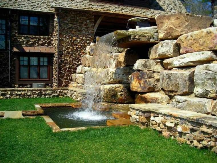 Jardines cascadas en 42 increíbles ideas creativas