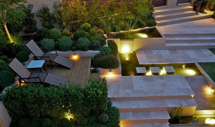 jardines detalles calido efectos materiale calidos
