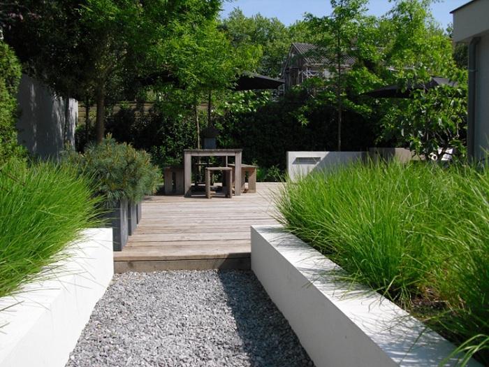 jardines detalles sistemas hierbas comedores