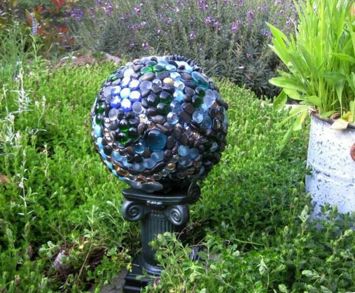 jardines esfera base elegantes plantas
