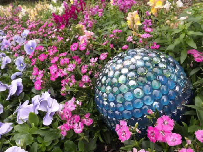 jardines esfera freacuencias contrastes flores