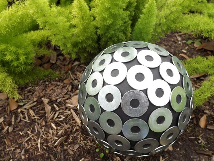 jardines esfera iniciales arandelas grandes