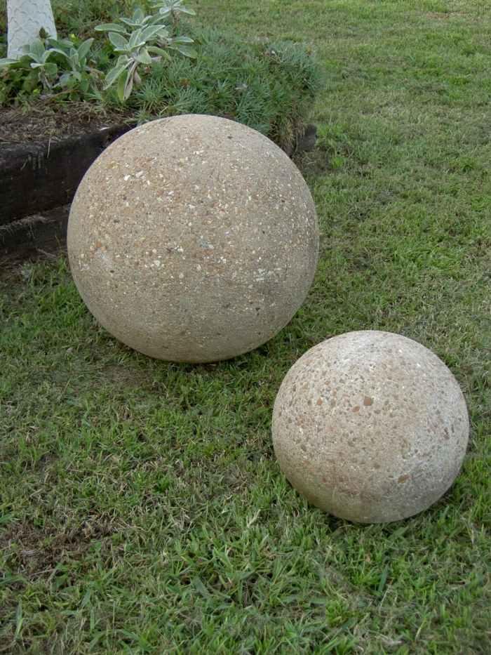 jardines esfera iniciales hormigon cortos